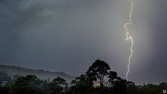 The Bolt (John_Armytage) Tags: newport newportbeach storm lightning nikond500 nikon2470 nikonaustralia rain northernbeaches