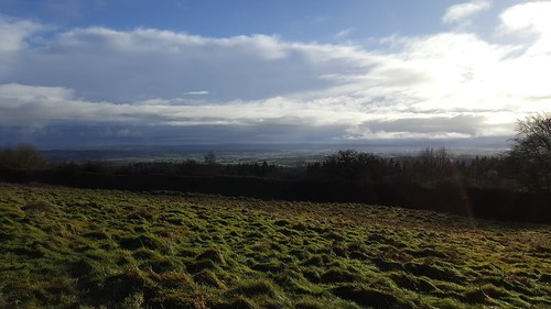 View from Croft Ambrey Iron Age Fort