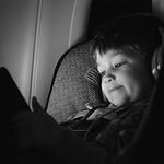 Nolan chilling on the plane. thumbnail
