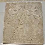 Alabaster Relief of King Assurnasirpal II and Genius thumbnail