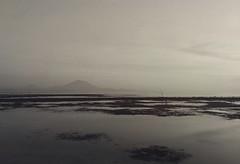 She Sleeps (Mobile Macrographer) Tags: lgv20 mobile photography macrographer smartphone bali sanur volcano mountain beach sand blackandwhite blackwhite coral seaweed nature landscape sea ngc