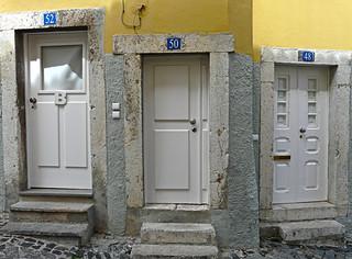 Lisboa, 3 doors