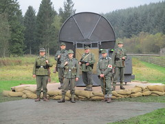Wermacht soldiers and the Wurzburg radar 15Oct17