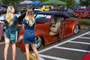 A Beautiful Blocked View (swong95765) Tags: car ford classic vintage antique woman females ladies blondes cute