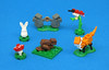 Critters (Grantmasters) Tags: lego moc animals forest