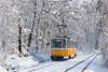 2040 - 10 (CometBG) Tags: tram tramwaj strassenbahn sofia vehicle outdoor snow tatra ckd t6a2