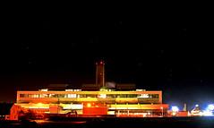 East Aberthaw Power Station (JessopSmythe) Tags: winter low light night wales stars power sation cymru coast aberthaw