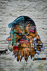 Chewie (Spectacle Photography) Tags: art vancouver britishcolumbia bc ilovebc street streetart city travel photography photo spectaclephotography starwars chewie chewbacca gastown