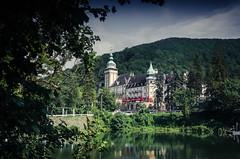 (SunnySubmarines) Tags: hungary palace lake summer mountain beautiful tree forest water landscape sky pond