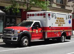PFD Medic 35 (Aaron Mott) Tags: philadelphiafire pfd philadelphia philly phiadelphiafire philadelphiafirefiretruck pfdfiretruck firetruck fire fireapparatus firedepartment firetruckpfd ford f450 horton ems ambulance medic