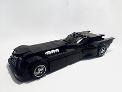 TAS Batmobile (bricksfeeder) Tags: lego batman building batmobile animated serie batmantheanimatedseries moc instructions creation