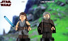 Custom LEGO Star Wars: The Last Jedi | Rey & Luke Skywalker (LegoMatic9) Tags: custom lego star wars the last jedi luke skywalker rey minifigures