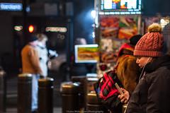 The Streets of NYC (jomak14) Tags: 2017 christmasinnyc fotodioxpropktom43adapter gf2 microfourthirds panasonic pentax50mmf12 people smcpk50mmf12 candid peopleonthestreet streetphotography foodcart
