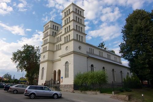 Dawny kościół ewangelicki w Lidzbarku Warmińskim od południa