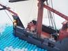 The Midnight's Mist (Robert4168/Garmadon) Tags: lego pirates brethrenofthebrickseas eslandola garvey ship vessel sails water minifigure cannon stern