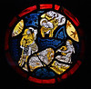 The Annunciation to the Shepherds (amandabhslater) Tags: glass coloured stained annunciation window shepherd bagpipe sheep angel
