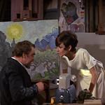 Hugh Griffith, Audrey Hepburn,