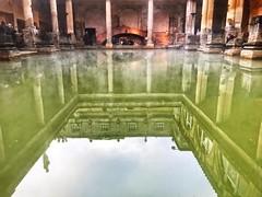 Minerva Temple Spring Water pool (dksesh) Tags: dhanakoti hevilambisamvatsara iphone bathspa seshadri harita apple bath sesh seshfamily haritasya hevilambi appleiphone7 appleiphone iphone7 cityofbath romantownofbath