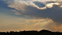 am späten Nachmittag (marionkaminski) Tags: namibia afrika africa landscape paysage pasaje wolken clouds nuages nubes sunset coucher du soleil sky panasonic lumixfz1000