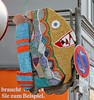 - (txmx 2) Tags: hamburg altona ottensen streetart 3d object installation fish bigfish