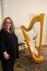 Harp and player (Canadian Pacific) Tags: 2017img3109 harp player kingedward hotel toronto ontario canada canadian