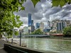 Clouds over the Rialto. Not much can beat a day in my home city of Melbourne (paulcox12) Tags: ngc explore sky clouds citylife town yarra river southbank rialto skyscraper skyline city australia victoria melbourne