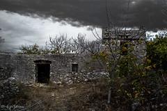 volta-0174 (epistimigallery) Tags: lefkes lefkesvillage lefkesparos paros parosisland parossky blueisland cyclades blueflag greek flag land lover travel selfie landscape ruins