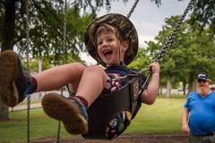 1/100x: The joy of being four. (jenniferdudley) Tags: play nikkor2070mm nikond4s nikon portrait family happy love joy playground swings birthdayboy happybirthday birthday