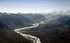 The River (Joost10000) Tags: landscape landschaft mountains mountainrange tienshan mountainside mountain sky glacier river valley aerial aerialphotography wild wilderness outdoors scenic rugged kyrgyzstan asia centralasia canon canon5d eos