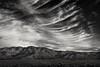 alone, but not lonesome... (Alvin Harp) Tags: hiko nevada us93 cloudsstormssunsetssunrises january 2018 blackandwhite bwlandscape wispyclouds clouds mountainrange sonyilce7rm3 fe2470mmf28gm natureswonder alvinharp