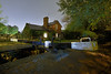 The Lock Keeper's Cottage, Park Hall, Walsall 07/10/2017 (Gary S. Crutchley) Tags: uk great britain england united kingdom urban town townscape walsall walsallflickr walsallweb black country blackcountry staffordshire staffs west midlands westmidlands nikon d800 night shot nightshot nightphoto nightphotograph image nightimage nightscape time after dark long exposure canal navigation cut inland waterway bcn narrowboat lock junction wyrley and essington canalscape scape