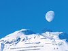 Kriegerhorn (ralph_behrens) Tags: lech vorarlberg österreich at moon mond 2018 winter olympus oly olympusomdem1markii doubleexposure 300mmf4pro mzuiko300mmf4pro mft