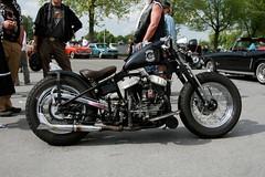 Harley Davidson Starrrahmen (Triple-green) Tags: iphotooriginal 2007 auto canon24105mm14l canoneos30d harleydavidson kaunitz starrrahmen strasenkreuzertreffen uscar