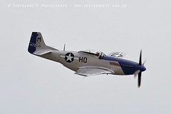 3528 P51 Mustang Miss Helen (photozone72) Tags: eastbourne airshows aircraft airshow aviation canon canon7dmk2 canon100400f4556lii 7dmk2 props p51 p51mustang mustang misshelen warbirds wwii usaf