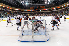 """Kansas City Mavericks vs. Kalamazoo Wings, January 5, 2018, Silverstein Eye Centers Arena, Independence, Missouri.  Photo: © John Howe / Howe Creative Photography, all rights reserved 2018. • <a style=""""font-size:0.8em;"""" href=""""http://www.flickr.com/photos/134016632@N02/39548715312/"""" target=""""_blank"""">View on Flickr</a>"""