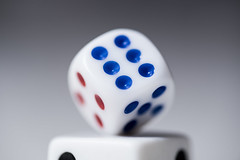 Roll the Dice 006/365 (Watermarq Design) Tags: dice roll games chance balance six 365project