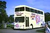 Slide 112-53 (Steve Guess) Tags: woburn abbey bedfordshire england gb uk bus exlt dms daimlier fleetline poco post office postcode showroom npsv