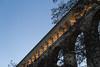 Aqueduc (Lionelcolomb) Tags: provence provencealpescôtedazur aqueduc ligne lines diagonale ciel sky architecture arche france roquefavour bouches du rhône 13 aixenprovence canon canon1200d sigma exterieur outdoor nuit night day tree arbre perspective
