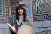 Uzbek girl (deus77) Tags: uzbek girl samarkand uzbekistan traditional clothes dress dressing warrior beautiful lovely portrait asia central woman
