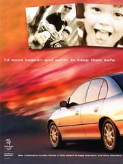 1999 VT Holden Acclaim Series II Page 1 Sedan Aussie Original Magazine Advertisement (Darren Marlow) Tags: 1 9 19 99 1999 v t vt holden commodore a c h acclaim sedan cars g m gmh general motors vehicle