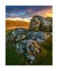 Sourton Tors, Dartmoor, Devon, UK (SimonHMiles) Tags: dartmoor moor heath upland rock granite tor landscape sky sunset dusk cloud grass