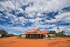 As outback as it gets (chris.tangey) Tags: ghost town outback australia red dirt alice springs