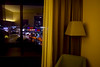 In a hotel room n.3 (Vincenzo Elviretti) Tags: lubiana slovenia estero hotel stanza stanze massimo volume room colori caldi tenui verde radisson city park nonluogo tenda muro