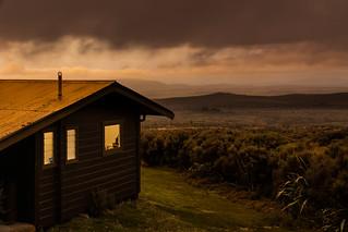Evening rain at the Skotel Alpine Resort