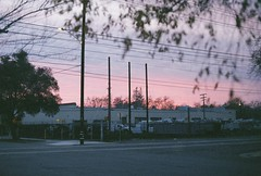 sunset at amis studios / (luustra) Tags: fuji film superia 800 canon ft ql california