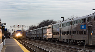 California Zephyr Eastbound in Naperville