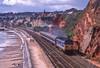 50050 At Dawlish. 29/09/1988 (briandean2) Tags: 50050 dawlish devon railways ukrailways coast