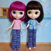 BaD Jan 5 - Simple (lyndell23) Tags: blythedolls blytheaday photochallenge simplychocolateblythe simplythumptythump knittingforblythe