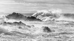 Mala Mar (Santi DS) Tags: mar ocean oceano temporal storm sea galicia atlantico furia waves olas romper corrubedo coruña españa spain