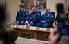 Expedition 54 State Commission (NHQ201712160003) (NASA HQ PHOTO) Tags: antonshkaplerov baikonur expedition54 roscosmos kazakhstan expedition54preflight scotttingle japanaerospaceexplorationagencyjaxa norishigekanai cosmonauthotel kaz statecommission nasa joelkowsky